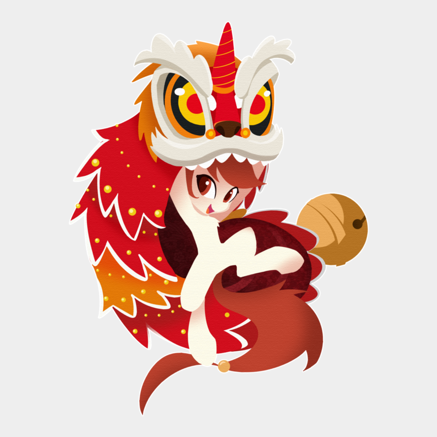 dance clip art, Cartoons - Chinese Lion Png For Free Download - Chinese Lion Dance Transparent