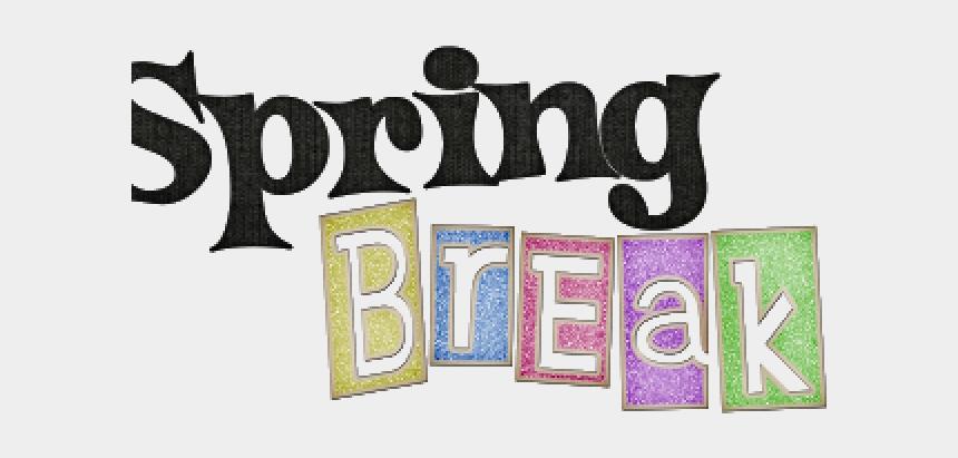 spring break clipart, Cartoons - Spring Break Cliparts - Spring Break Word Art