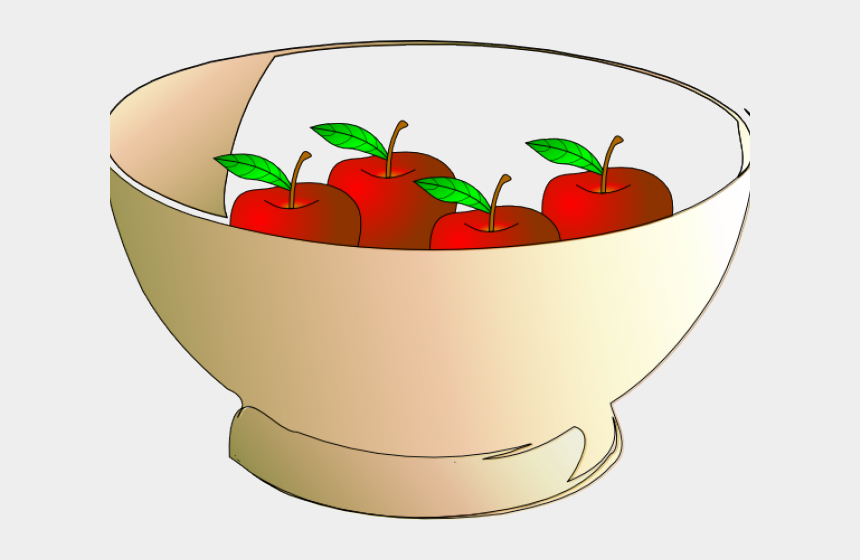 apples clipart, Cartoons - 6 Apples In A Bowl