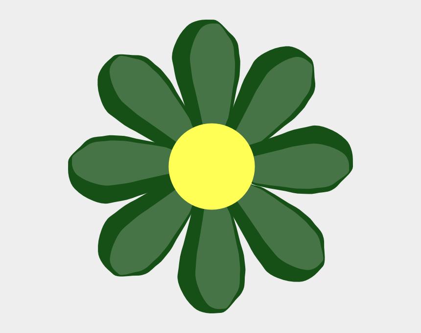 spring break clipart, Cartoons - Spring - Flowers - Clipart - Green Spring Flower Clip Art