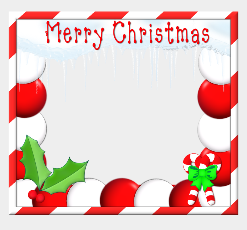 christmas clip art borders, Cartoons - Christmas Border Clip Art - Christmas Frame For Facebook