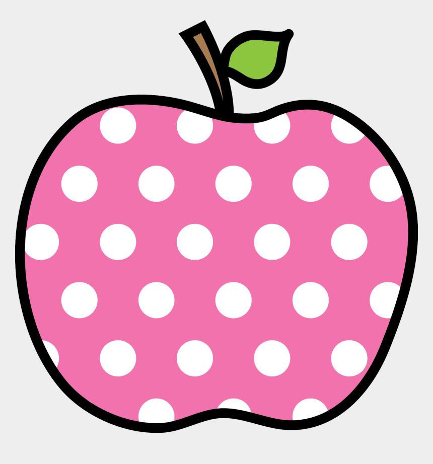 apples clipart, Cartoons - Polka Dot Apples Png - Polka Dot Apple Clipart