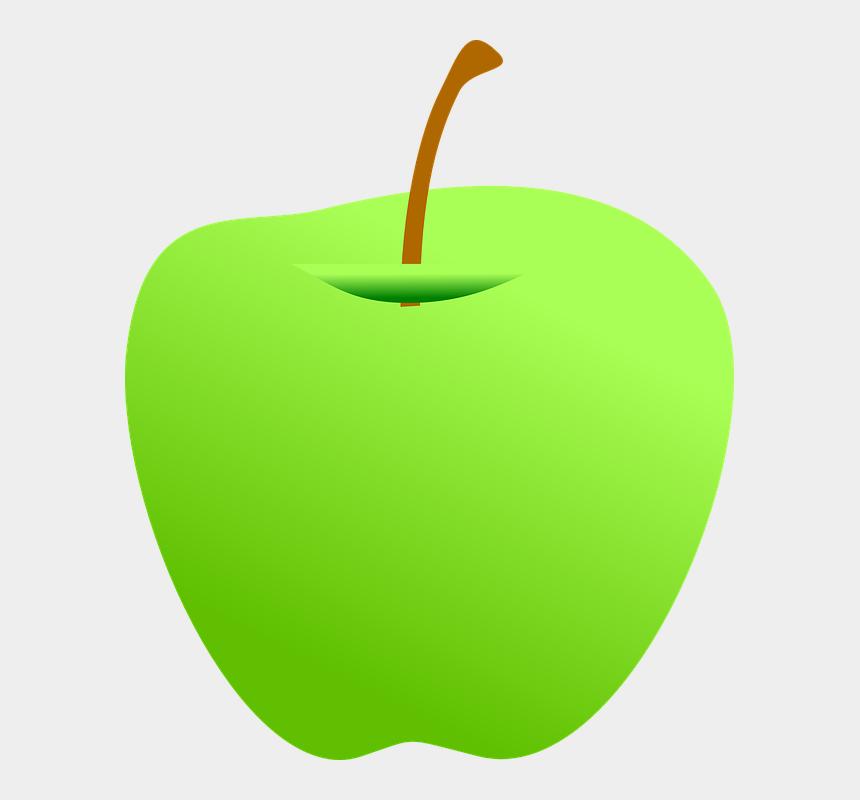 apples clipart, Cartoons - Moss Clipart Apple - Green Apple Clipart Png