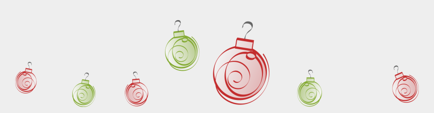 christmas clip art borders, Cartoons - Holiday Border Ornaments Png - Holiday Party Clip Art Borders