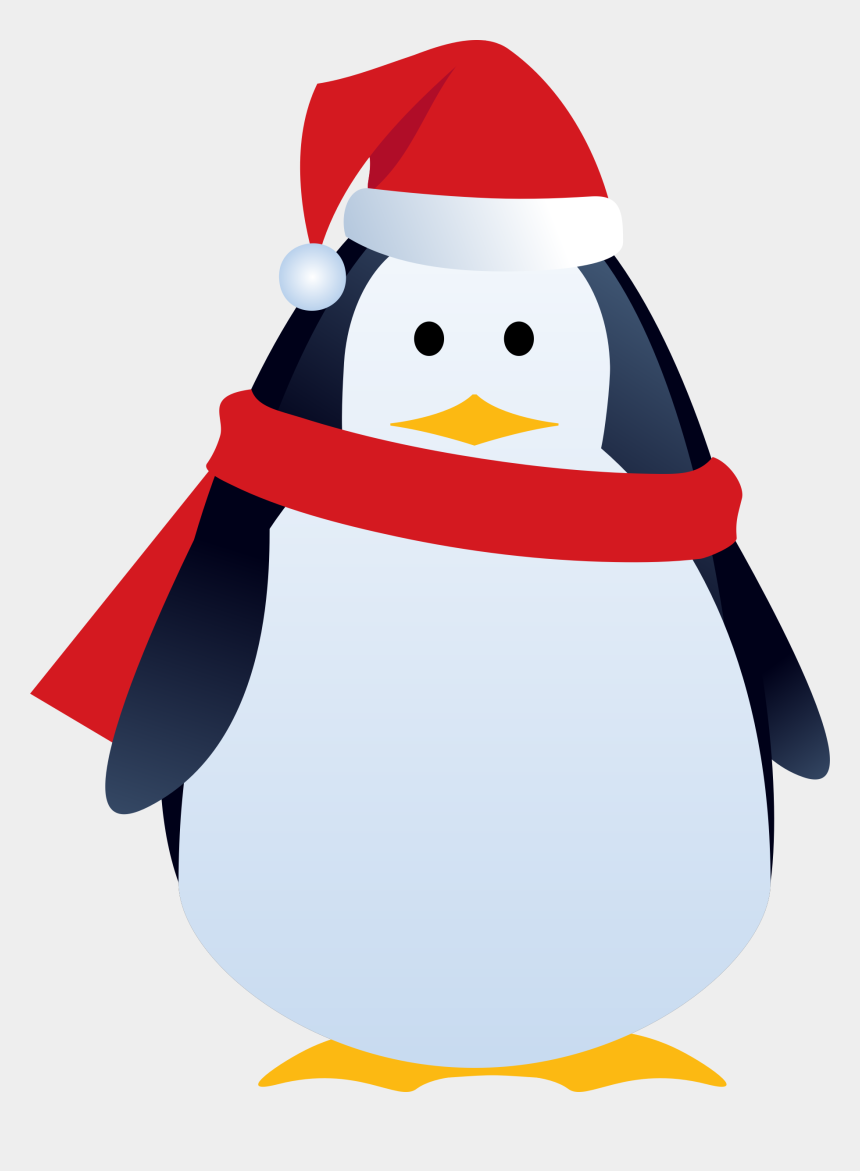 christmas clip art borders, Cartoons - Penguin Clipart Borders - Christmas Penguin Clip Art