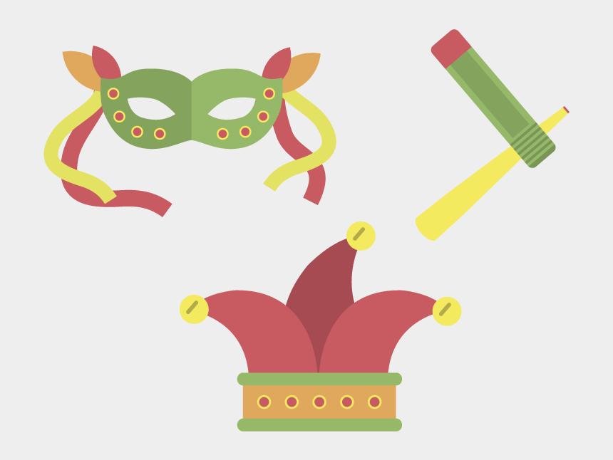 carnival clip art, Cartoons - Mask Carnival Euclidean Vector Icon - Vetor Mascara De Carnaval Png