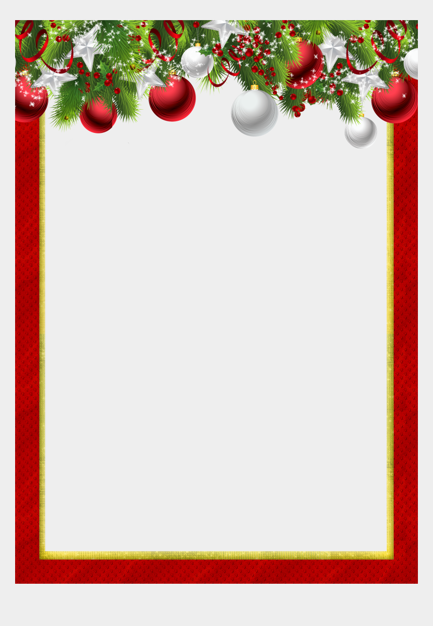 christmas clip art borders, Cartoons - Christmas Ornaments, Backgrounds, Clip Art, And More - Red Christmas Frame Png