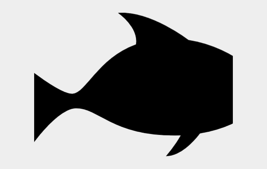 shadow clipart, Cartoons - Shadow Clipart Fishing - Fish Clipart Silhouette Png