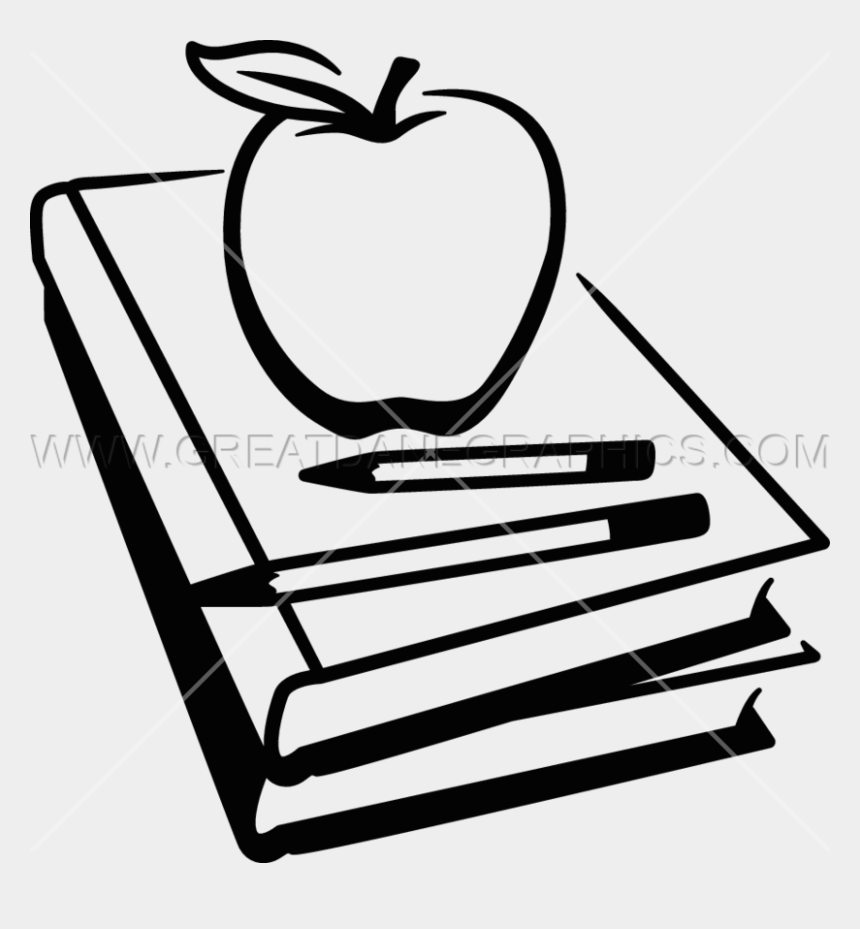 school clip art black and white, Cartoons - School Book Clipart Black And White - School Book Clipart Png