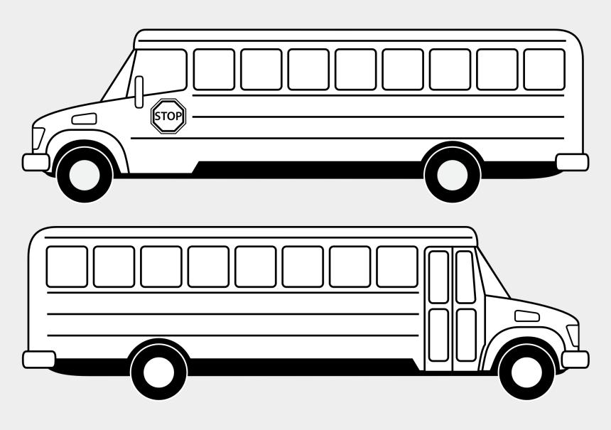 school clip art black and white, Cartoons - School Bus Black And White School Bus Clip Art Black - Buses Clipart Black And White