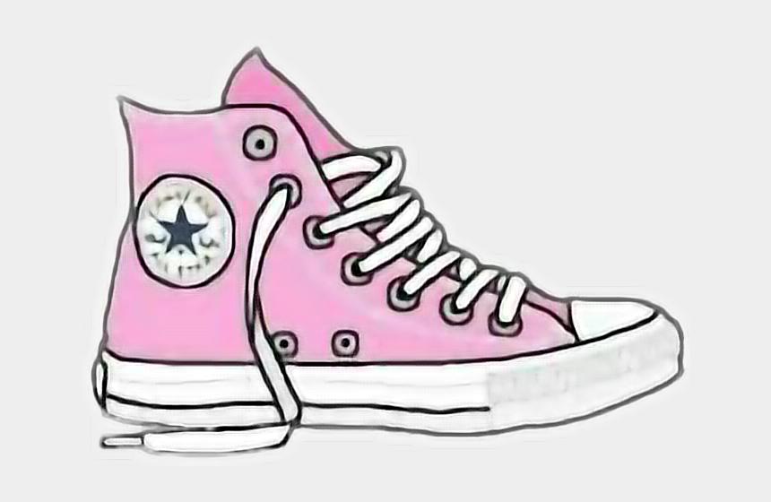 tennis shoes clipart, Cartoons - Sneakers Clipart Picsart - Png Converse