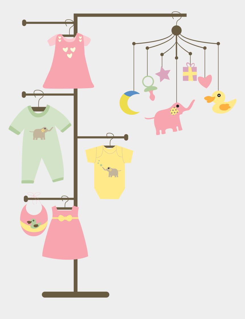 laundry clip art, Cartoons - Laundry Clipart Clothes Line - Baby Hanger Clipart