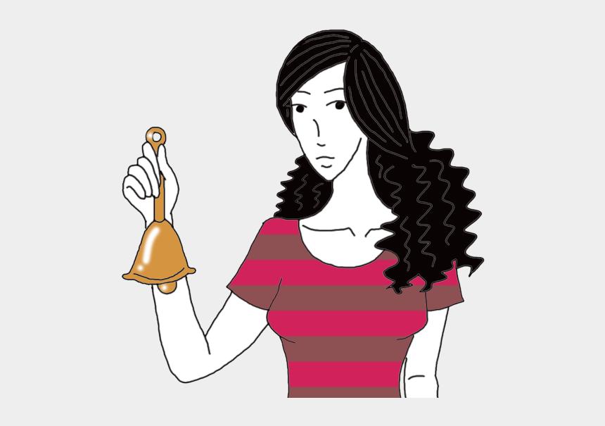 liberty bell clip art, Cartoons - Bells Dream Meaning - Girl Holding Bell Clipart
