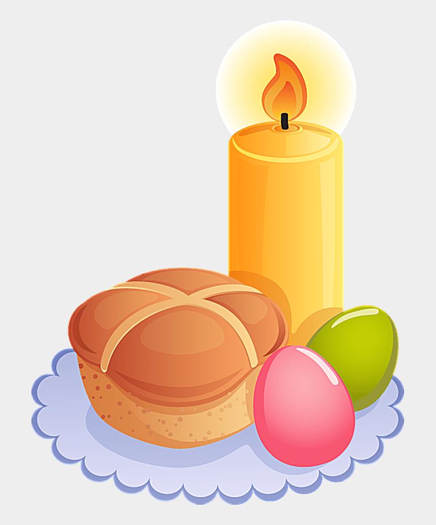 easter religious clip art, Cartoons - Religious Easter Clipart - Easter Candle Clipart