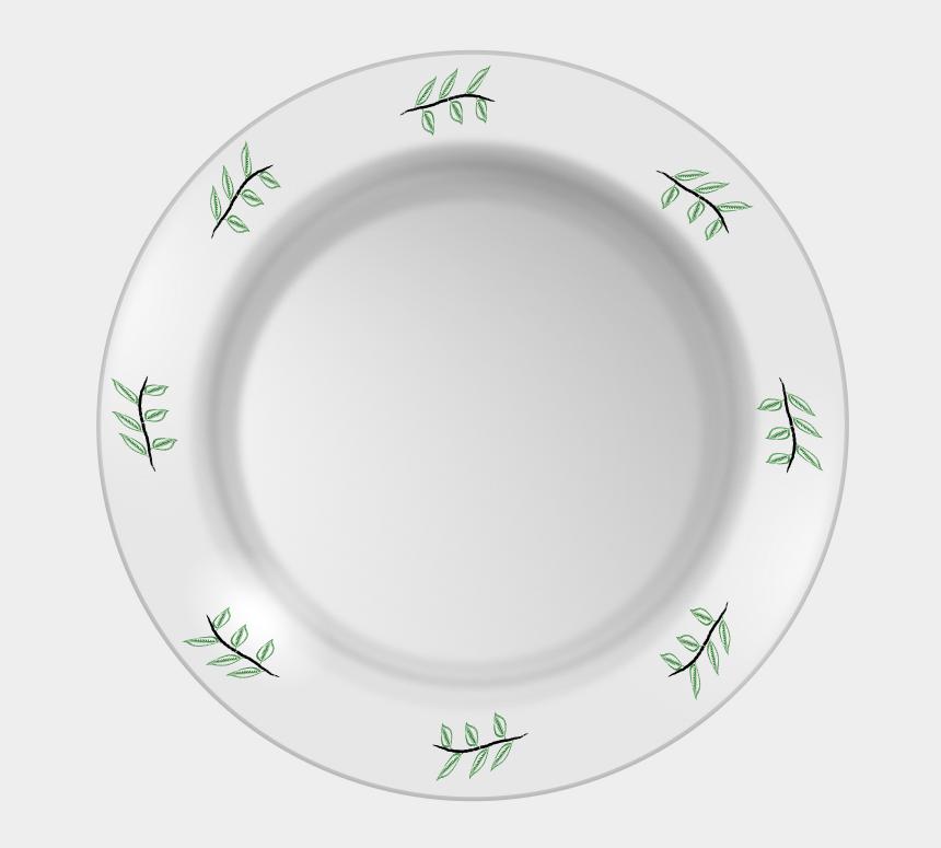 dinner plate clipart, Cartoons - Dinner Plate Transparent
