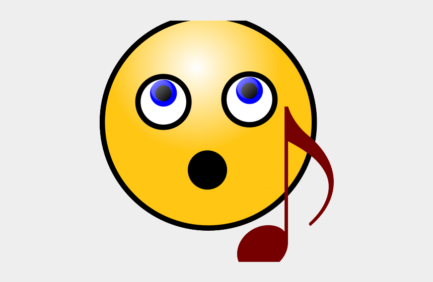 frowny face clipart, Cartoons - Sad Emoji Clipart Smiling Face - Musical Smiley Face
