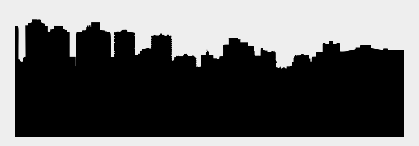 new york city skyline clipart, Cartoons - Clipart - Generic Skyline Silhouette Vector