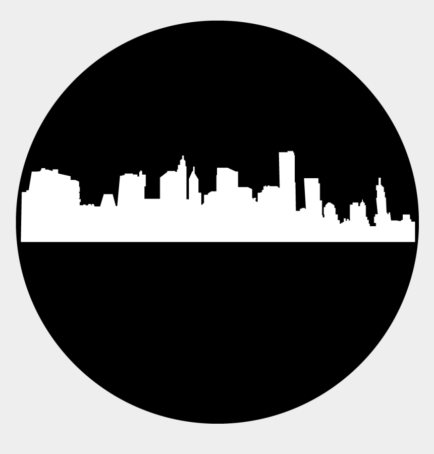 new york skyline clipart, Cartoons - New York Skyline - New York Gobo