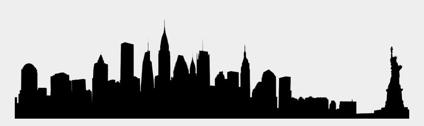 new york city skyline clipart, Cartoons - New York Skyline Png - New York