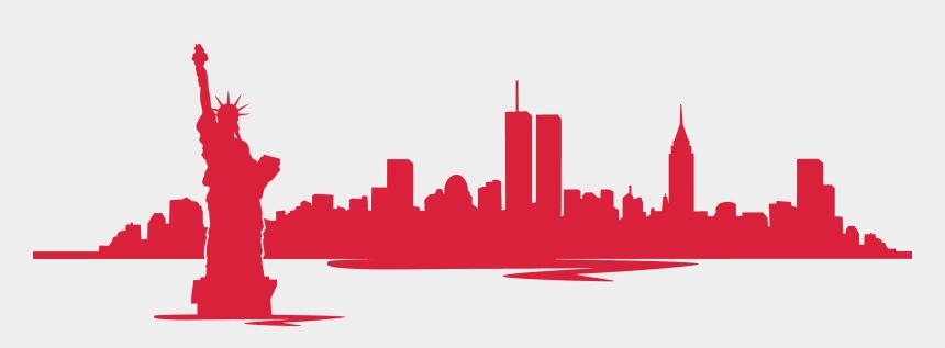 new york city skyline clipart, Cartoons - Locksmith Services - 9 11 New York Skyline Silhouette