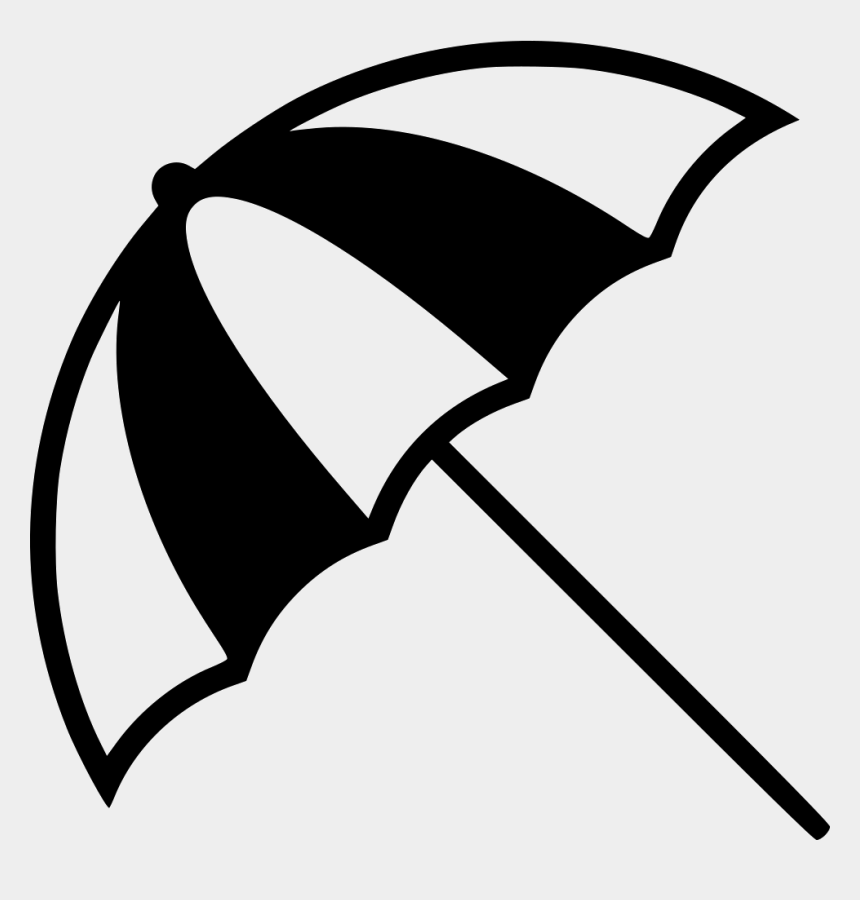 beach umbrella clipart black and white, Cartoons - Beach Icon Png - Beach Umbrella Icon Png