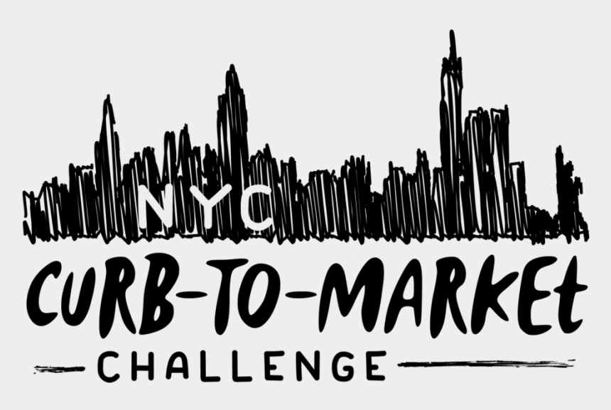 new york city skyline clipart, Cartoons - Pin It On Pinterest - Nyc Curb To Market Challenge
