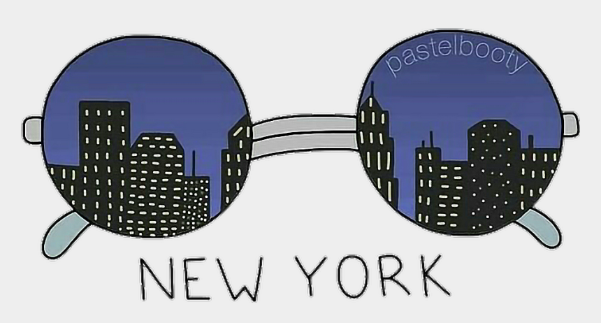 new york city skyline clipart, Cartoons - #tumblr #newyorkcity #newyork #love #nyc - Overlays Tumblr Png Hipster