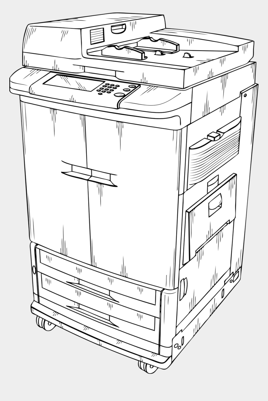 Photcopier - Photocopier Clipart , Free Transparent Clipart - ClipartKey
