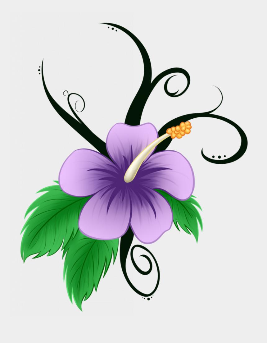 hawaiian flowers clipart, Cartoons - Tremendous Hawaiian Flowers Cartoon Flower Clip Art - Cartoon Hibiscus Flower Hawaii Flower