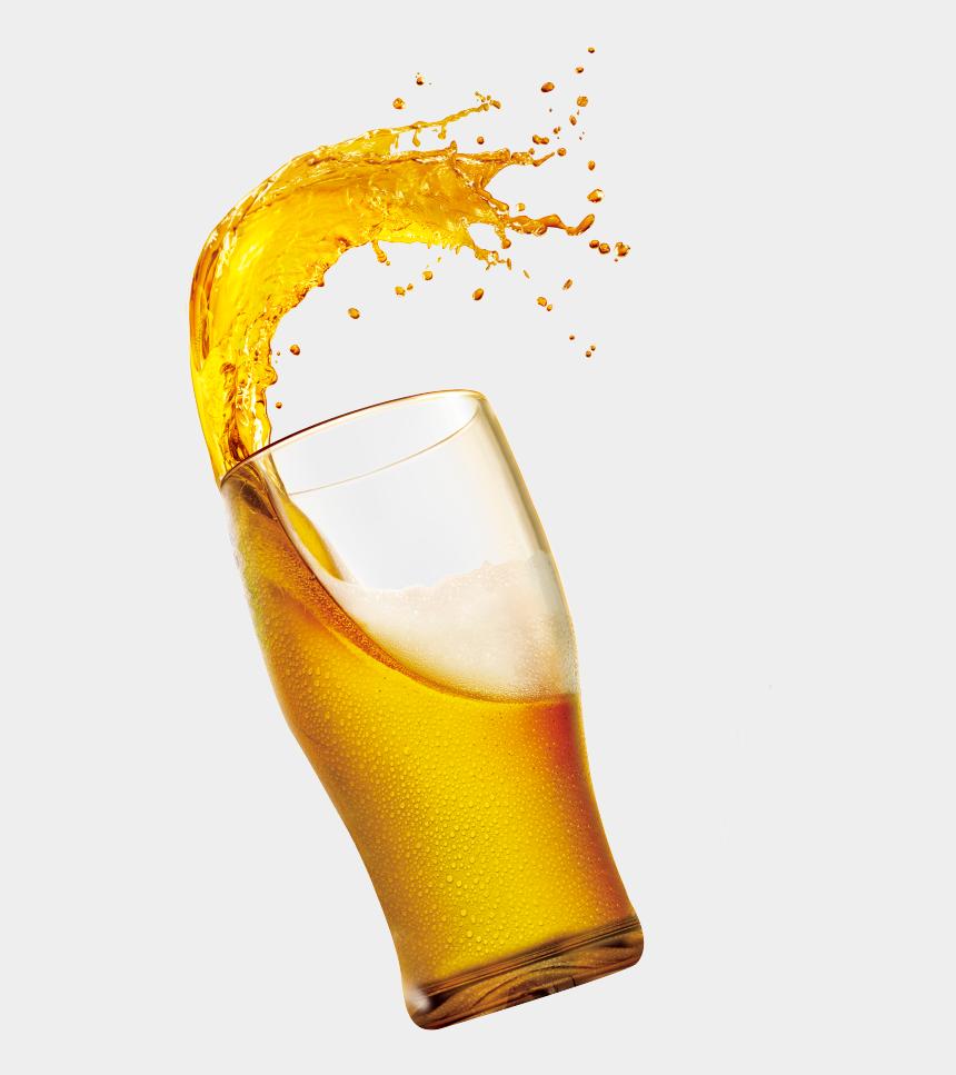 alcoholic drink clipart, Cartoons - Apple Drink Juice Beer Splash Orange Clipart - Juice Splash Glass Png