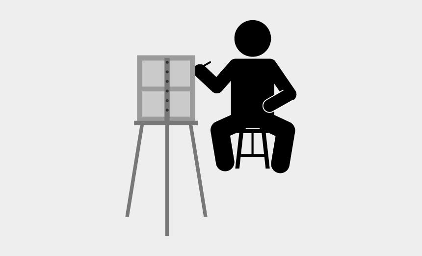 hobbies clipart, Cartoons - School And Study - Interests Pictogram