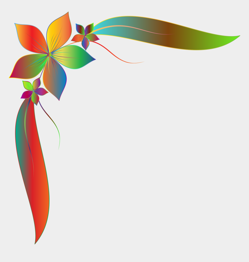 clipart borders simple, Cartoons - Decorative Borders Floral Design Encapsulated Postscript - Flower Simple Border Design