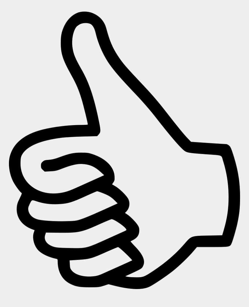 vote clipart black and white, Cartoons - Like Thumbs Up Vote Svg Png Icon Ⓒ - Up Down Coloring Page