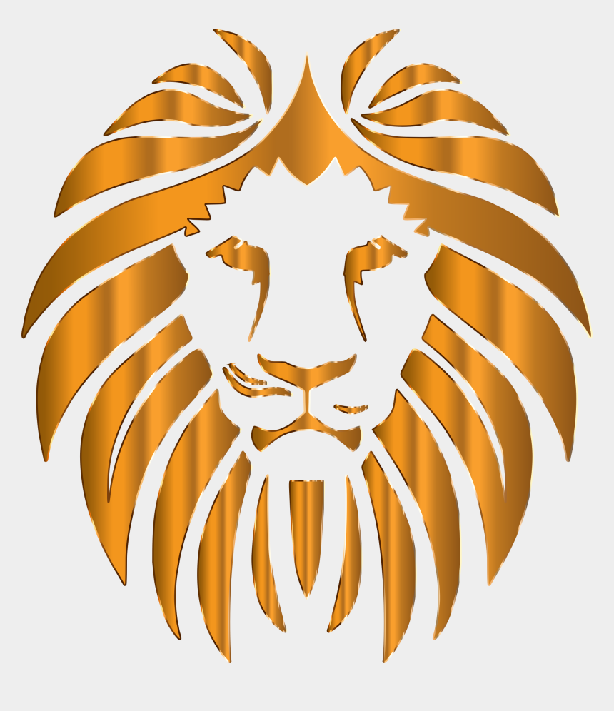 lions head clipart, Cartoons - Lions Clipart No Background - Gahanna East Middle School