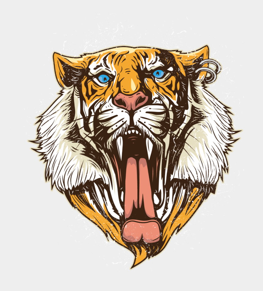 lions head clipart, Cartoons - #mq #lions #head #lion #animal #animals - Tiger Head Png