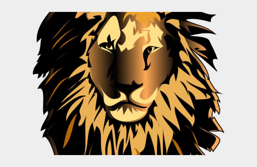 lions head clipart, Cartoons - Lion Clip Art Vector