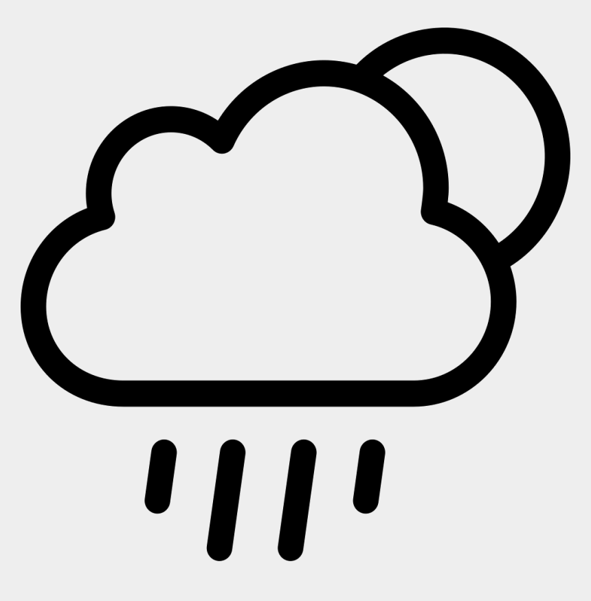 raining day clipart, Cartoons - Rainy Weather Icon Png - Rainy Icon Png