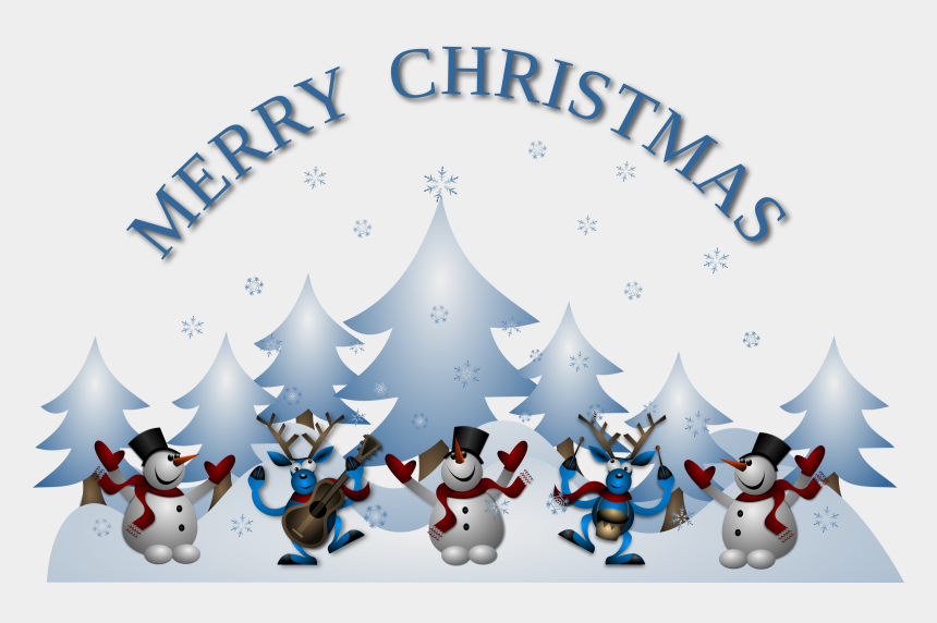 christmas cliparts, Cartoons - Merry Christmas Card Front - Merry Christmas Card Clipart