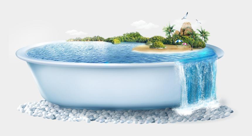 bathtub with bubbles clipart, Cartoons - Bath Tub Png - Transparent Hot Tub Png