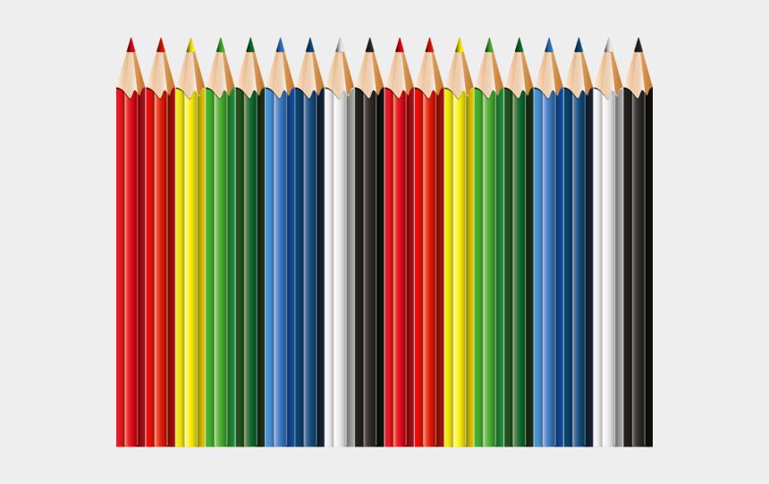 colored pencil clipart, Cartoons - School Clipart, Pre School, Colored Pencils, Scissors, - Png Images School Pencils