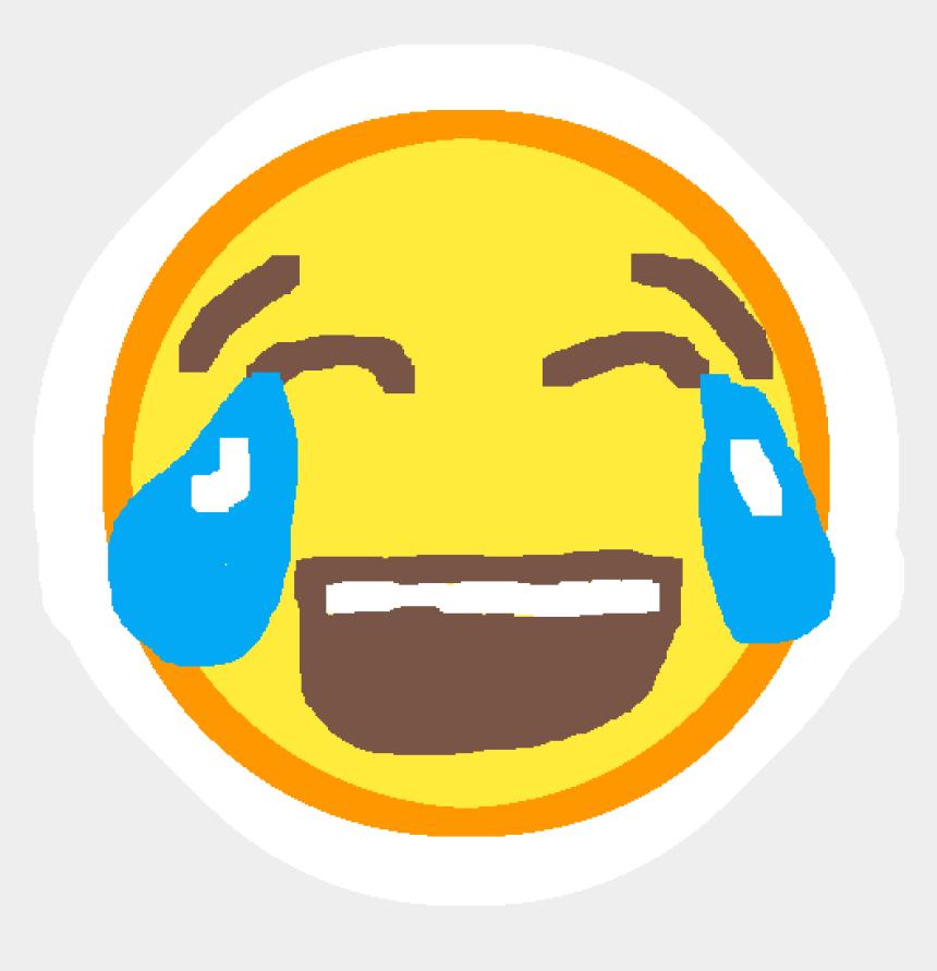 laughing emoji clipart, Cartoons - Blank Clock Face