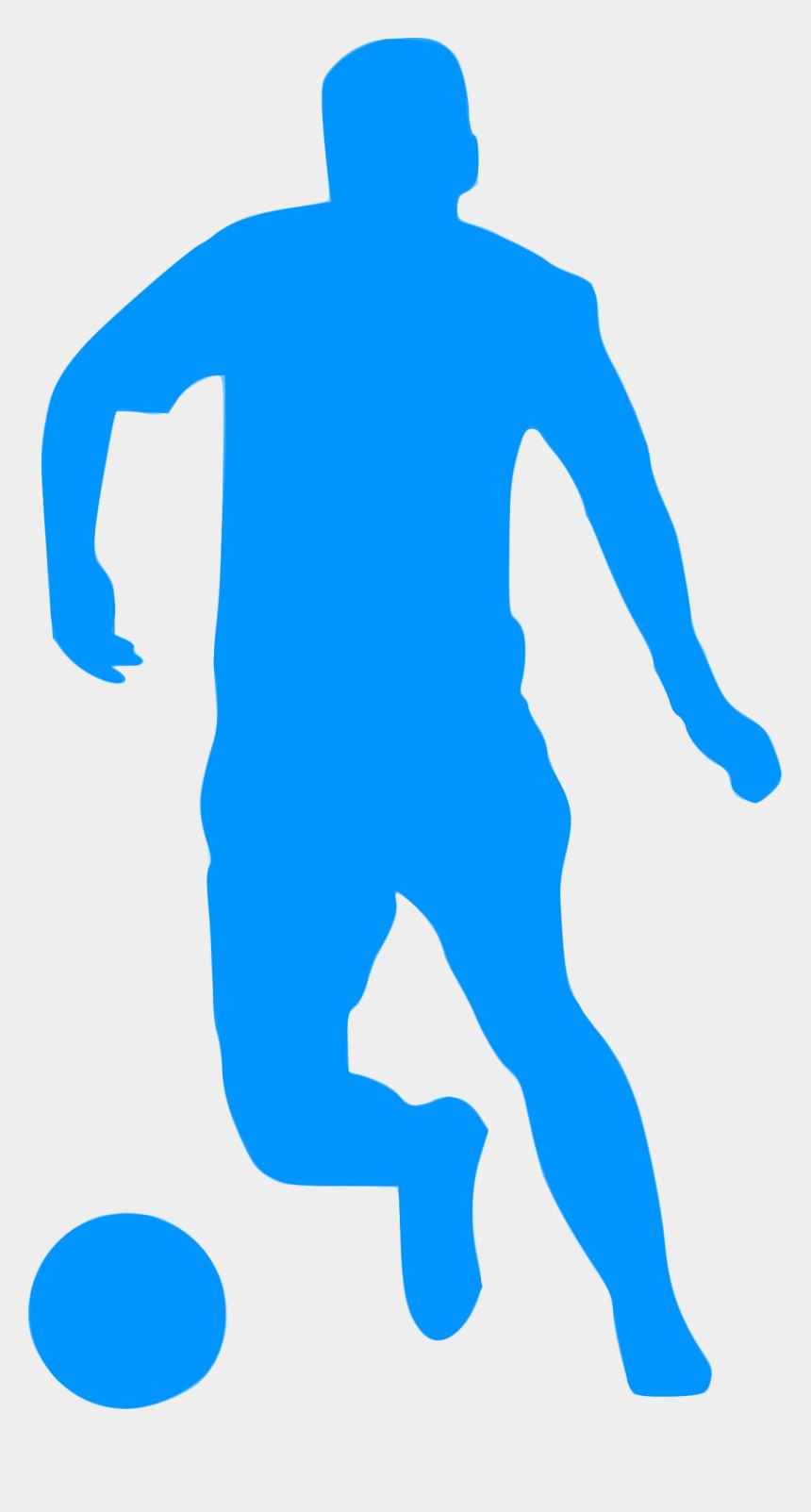 football player silhouette clipart, Cartoons - Silhouette Football 11 Icons Png - Silhouette Football Png Blue