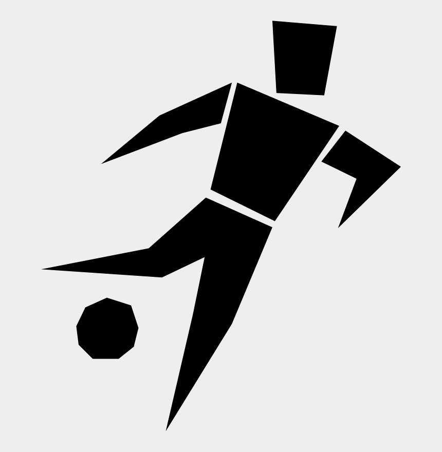 football player silhouette clipart, Cartoons - Fifa-turnier Football Player Computer Icons Sports - Soccer Player Clipart Black And White