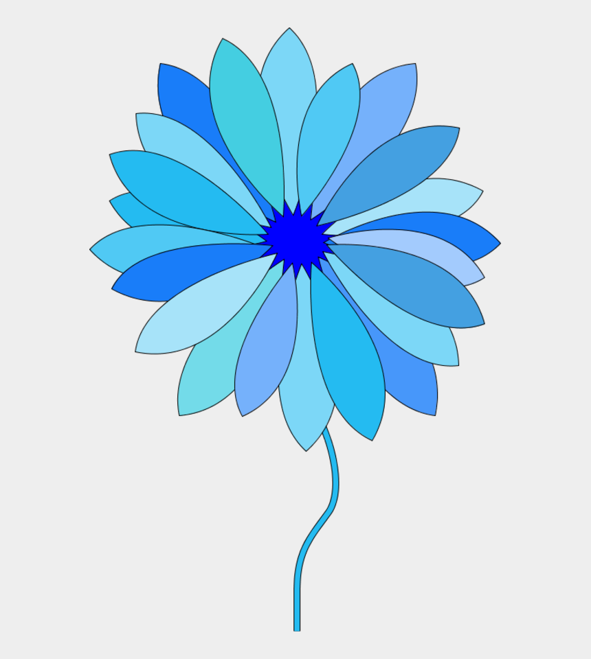 blue flowers clipart, Cartoons - Flowers Vectors Clipart Animated - Flower Cartoon Gif Png
