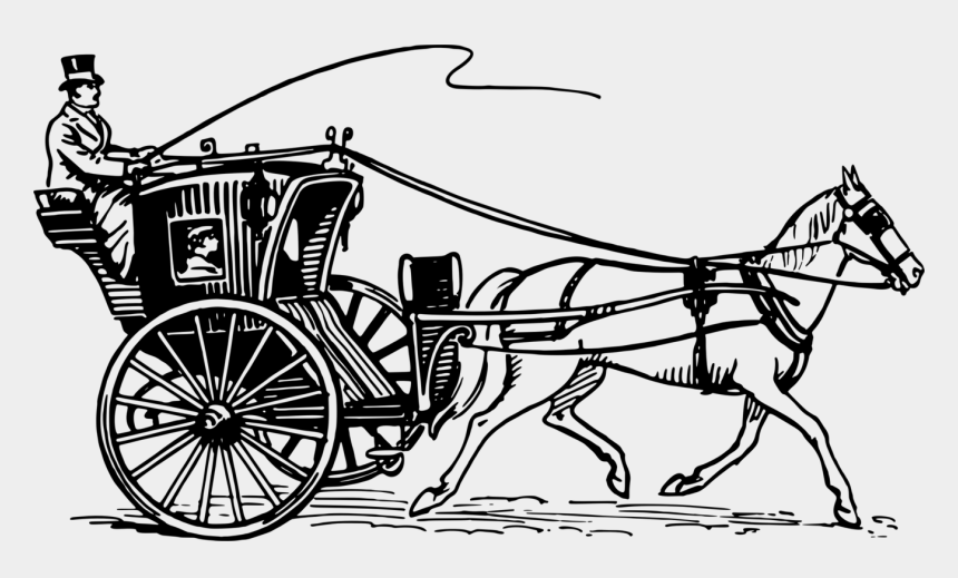 red wagon clipart, Cartoons - Wagon Clipart Horse Wagon - Horse Drawn Carriage Drawing