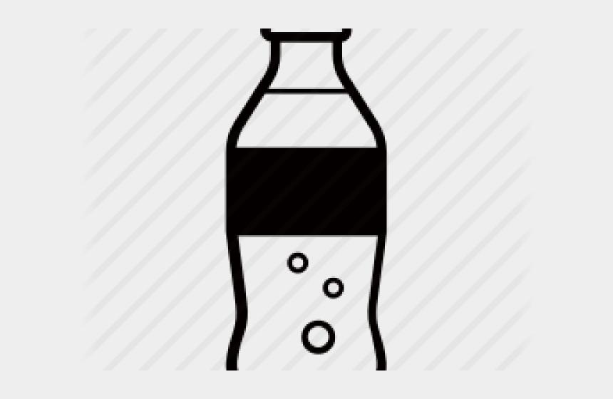 plastic bottle clipart, Cartoons - Bottle Clipart Black And White - Clipart Soda Bottle Png
