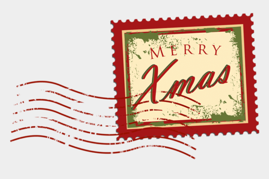 stamps clipart, Cartoons - Image Not Found Or Type Unknown - Christmas Postage Stamp Png