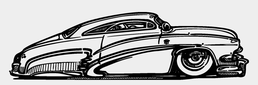 Transport Classic Cars Silhouettes Vector Eps Free Old School