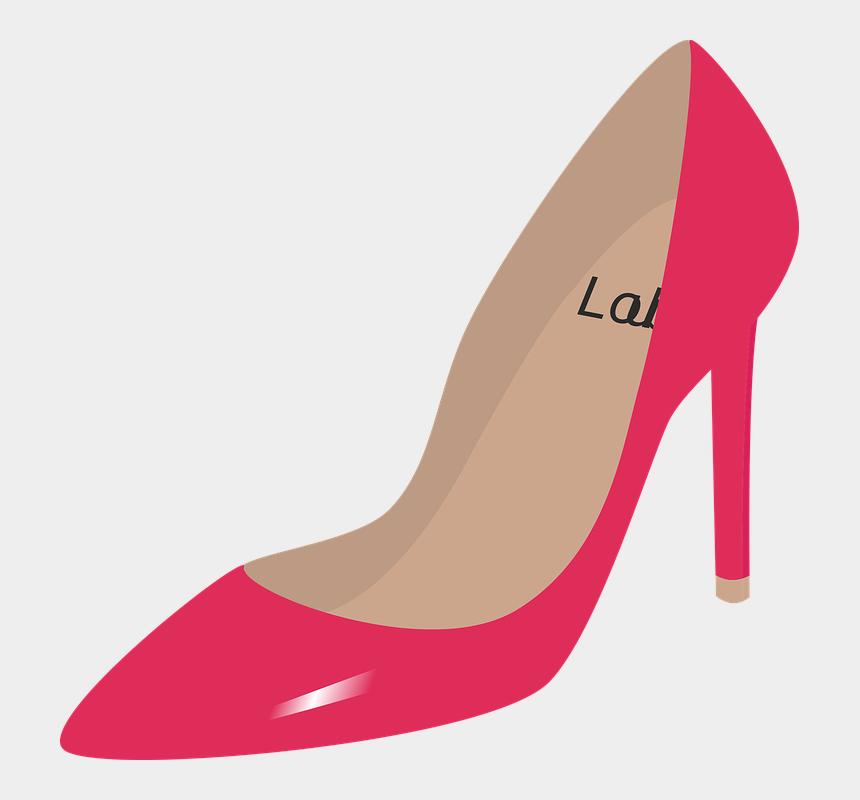 high heel shoes clipart, Cartoons - Shoe, Shoe Heel, Fashion, Shoes - Sandalia Rosa Em Png