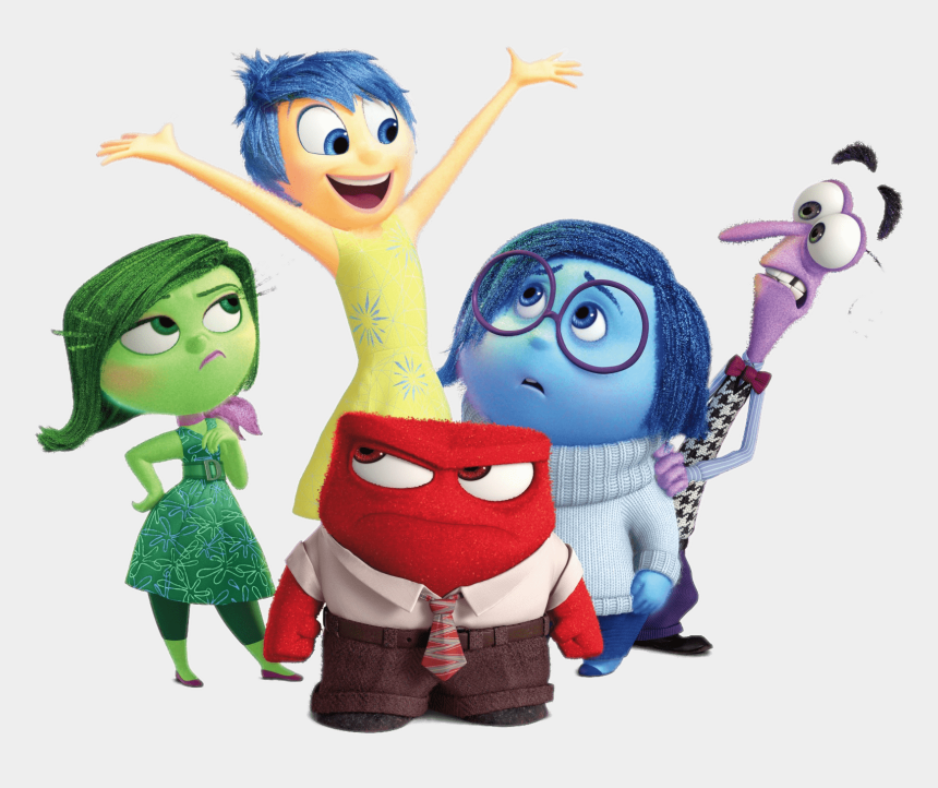 inside out clipart, Cartoons - Inside Out Characters - Inside Out Characters Png